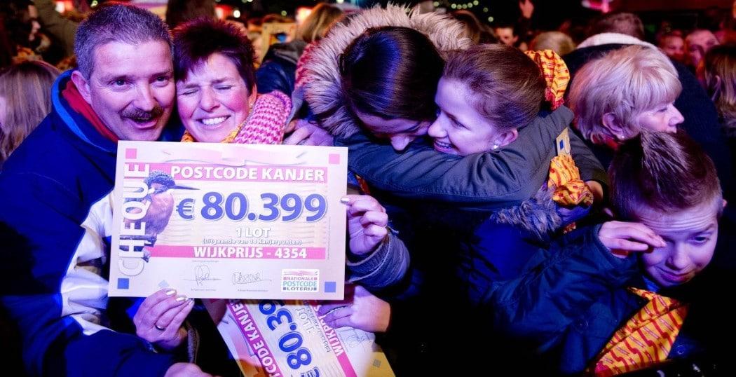 Postcode loterij miljoen jackpot - LoterijMeesters.nl extra zakgeld